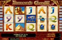 Игровой автомат Pharaons Gold III