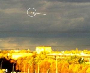 Харьков посетило НЛО?